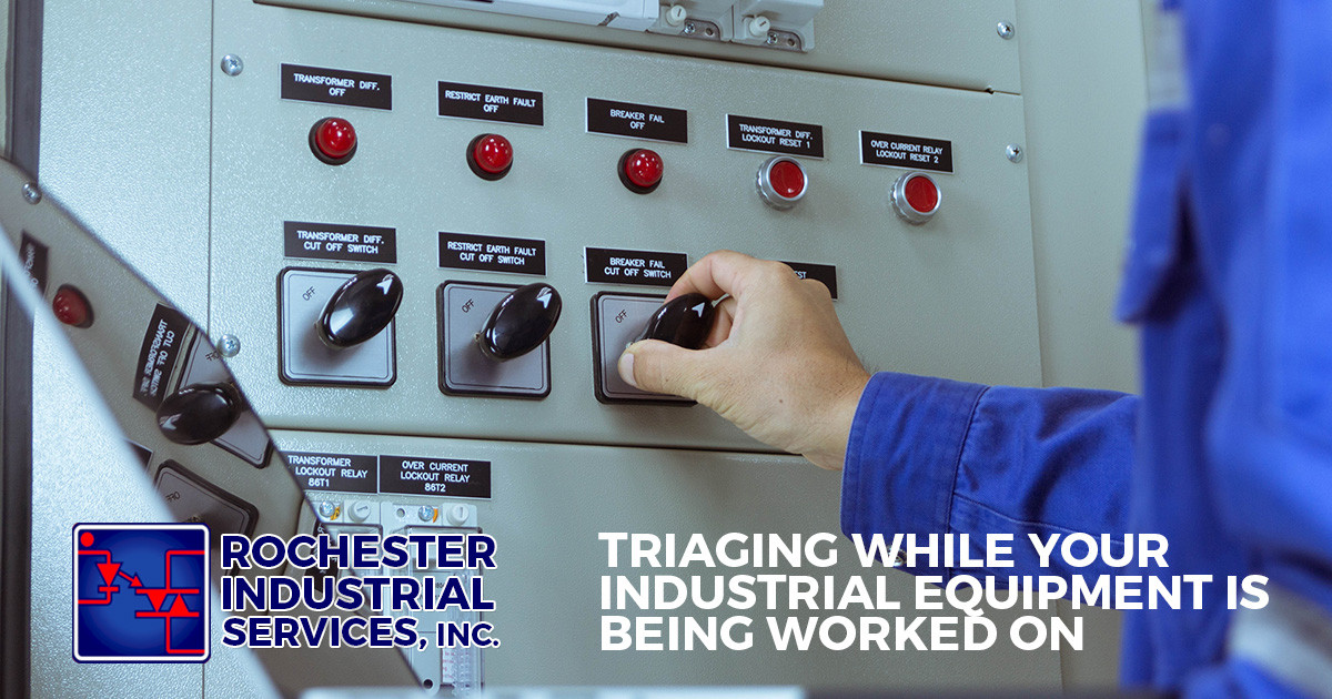 Triaging While Your Industrial Equipment Is Being Worked On