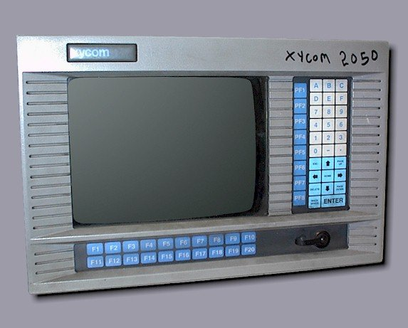 """Xycom 2050-98033-21 Operator Interface Color Workstation w/35 12"""" Repairs"""