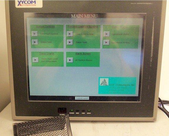 Xycom 3512-T Flat Panel Industrial PC Repairs