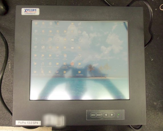 Xycom 5015T Operator Interface Touch Screen 100-240VAC 0.8-0.4a Repairs