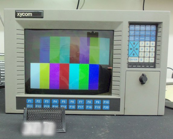 Xycom 9450 CRT-Based Industrial PC Repairs