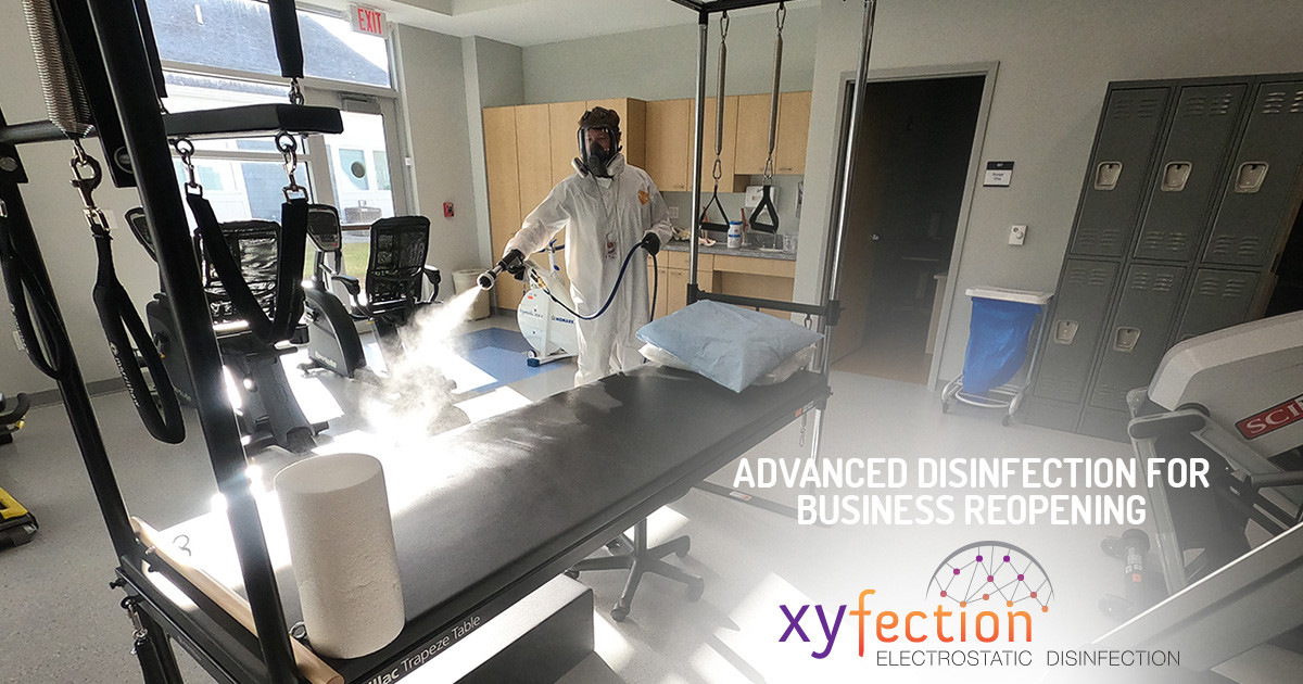 Advanced Disinfection for Safe, Efficient Business Reopening
