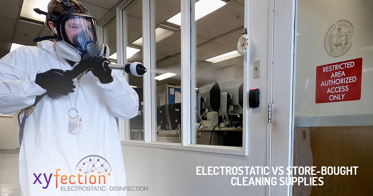 Why Electrostatic Disinfection is Superior to Spray Disinfectants