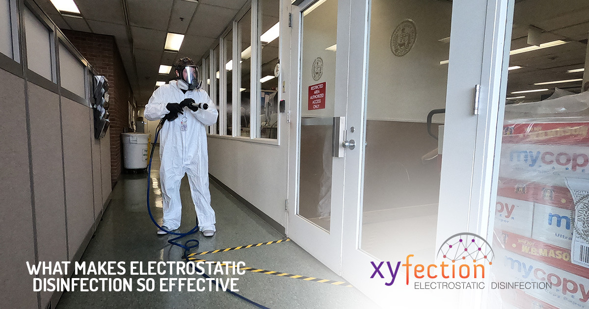 What Makes Electrostatic Disinfection the Most Effective
