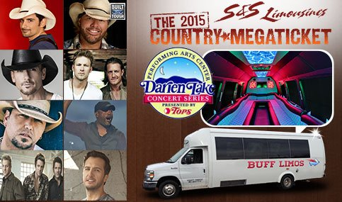Limo Service for Country Megaticket Concerts