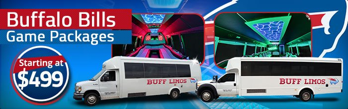Limo & Bus rentals to Buffalo Bills games