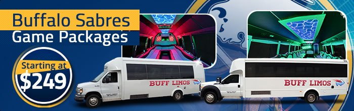 Limo & Bus transportation to Buffalo Sabres games