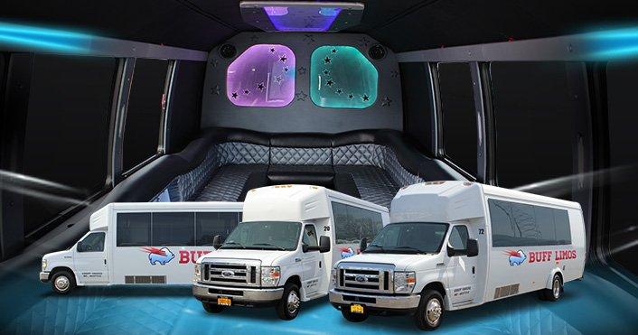 24-26 passenger limo bus buffalo ny