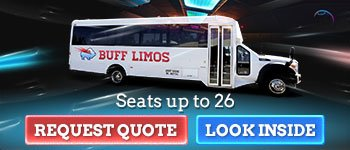 26 Passenger Limo Bus Transportation in Buffalo NY