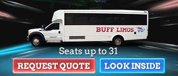 31 Passenger Limo Bus Transportation in Buffalo NY