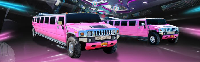 Pink H2 Hummer Limousine in Buffalo NY