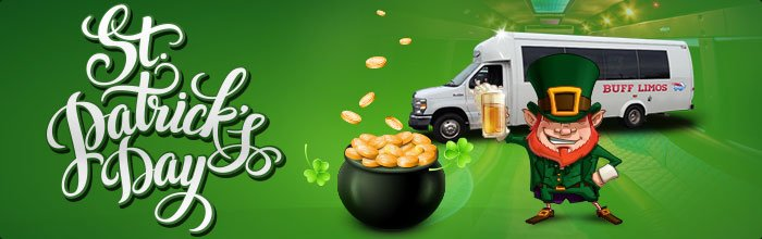 St. Patrick's Day Limousine Transportation