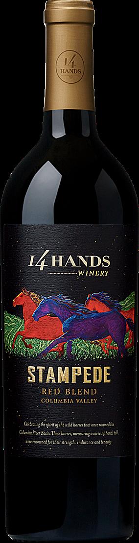 14 Hands Stampede Red 750ml NV
