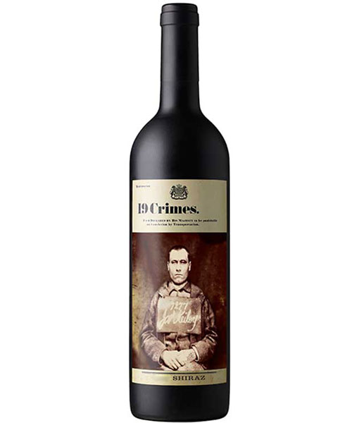 19 Crimes Shiraz 750ml NV