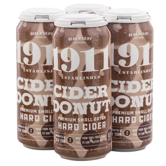 1911 Donut Hard Cider 4Pk-16oz. Cans
