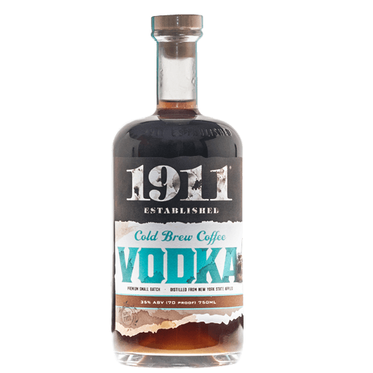 1911 Beak & Skiff Cold Brew Coffee Vodka 750ml