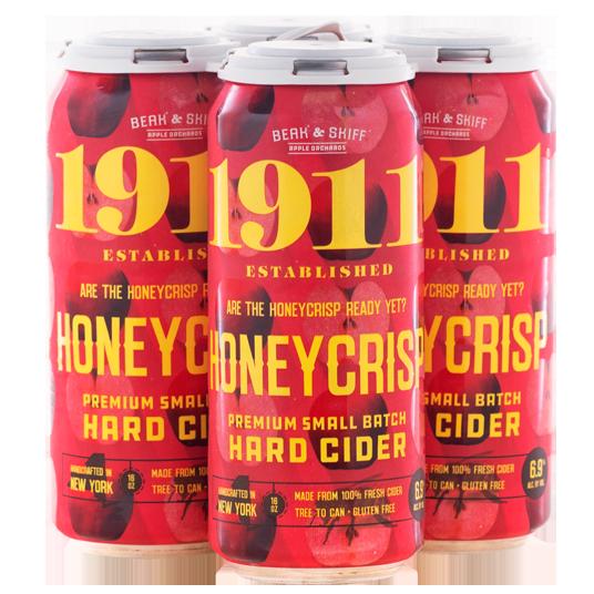 1911 Honeycrisp Hard Cider 4Pk-16 oz.