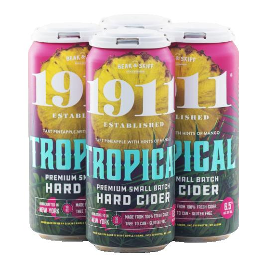 1911 Tropical Hard Cider 4Pk-16OZ. Cans