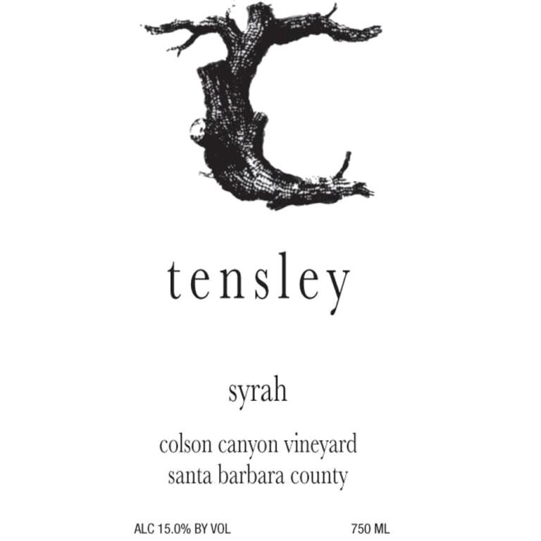 2014 Tensley Syrah Colson Canyon 750ml