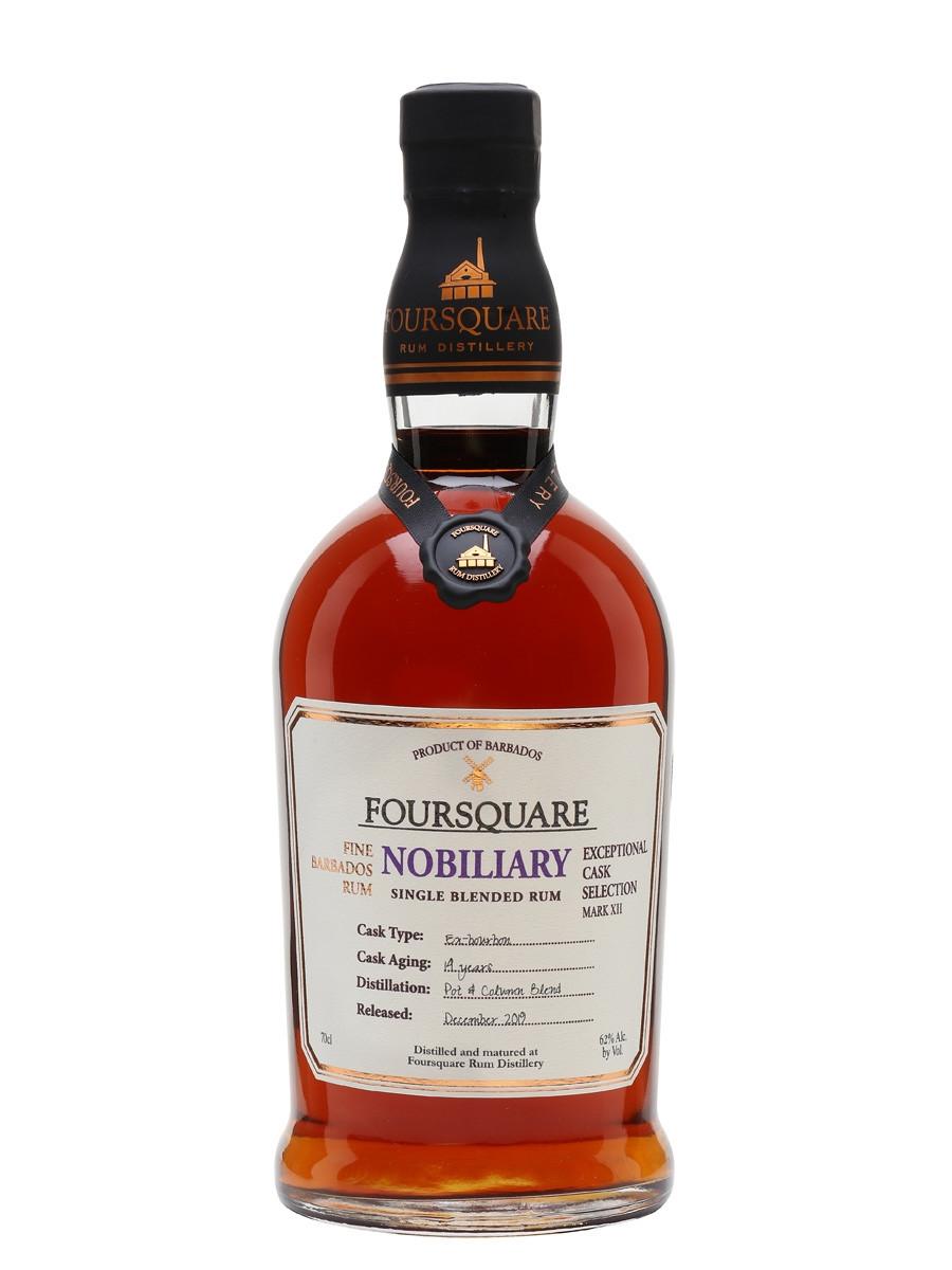 Foursquare Nobiliary Rum 750ml