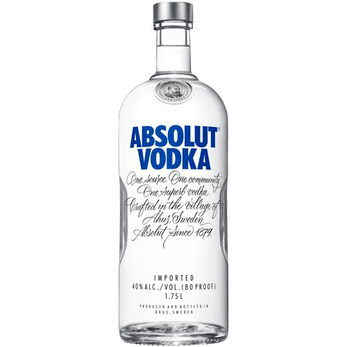 Absolut Vodka 80 Proof 1.75L