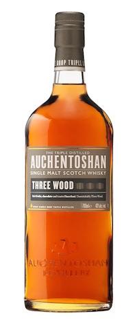 Auchentoshan Three Wood Single Malt Scotch 750Ml