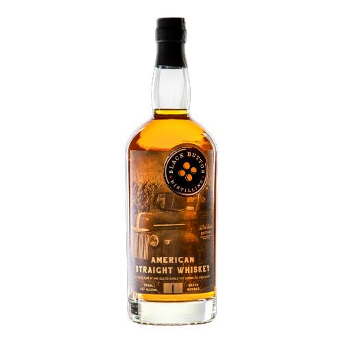 Black Button American Straight Whiskey 750ml