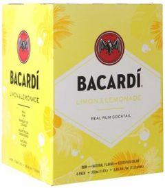 Bacardi Limon & Lemonade 4Pk - 355ml Cans