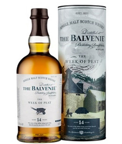 Balvenie 14Yr The Week Of Peat Highland Single Malt Scotch 750ml