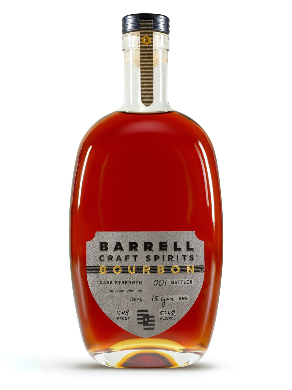 Barrel Craft Spirits 15Yr Cask Strength Bourbon 750ml