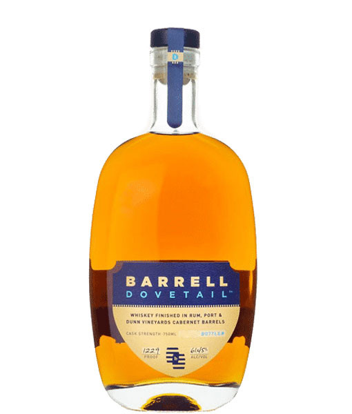 Barrel Craft Dovetail Cask Strength 750ml 122.9 Proof