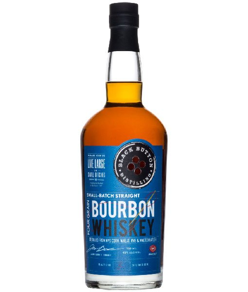 Black Button Four Grain Bourbon 750ml