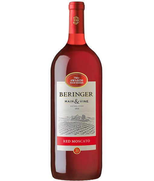Beringer  Main & Vine Red Moscato 1.5L NV