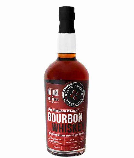 Black Button Cask Strength Straight Bourbon 750ml