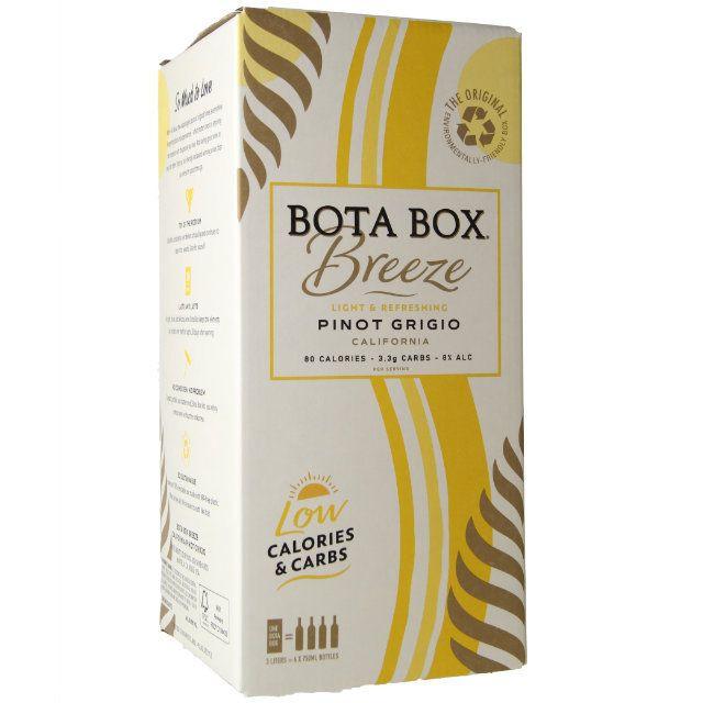 Bota Box Breeze Pinot Grigio 3L Box NV