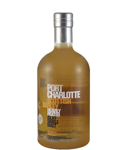 Bruichladdich Port Charlotte Scottish Barley Heavily Peated Islay Single Malt