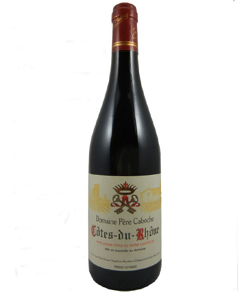 2018 Caboche Cotes Du Rhone Rouge 750ml