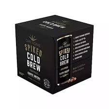 Cafe Agave Spiked Cold Brew 4Pk 187ml