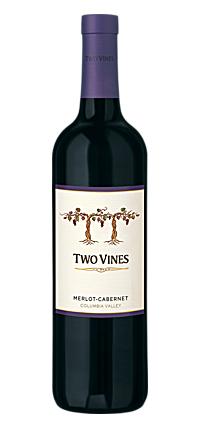 Columbia Crest Two Vines Merlot/Cabernet Sauvignon 750ml NV