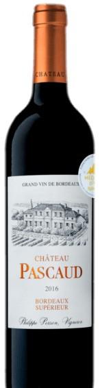2018 Chateau Pascaud Bordeaux Superieur Red 750ml