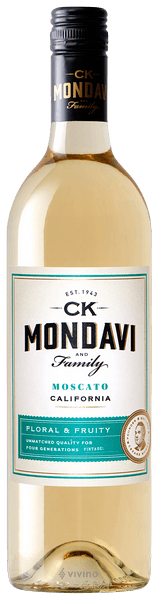 2018 C.K. Mondavi Moscato 750Ml