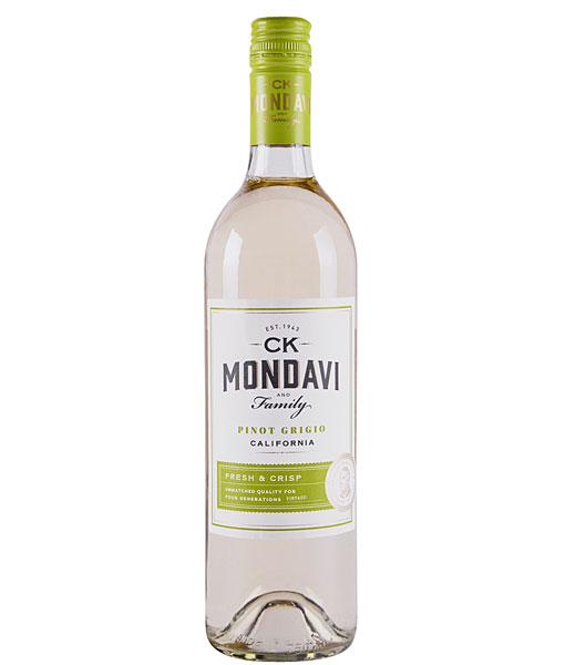 2018 C.K. Mondavi Pinot Grigio 750Ml