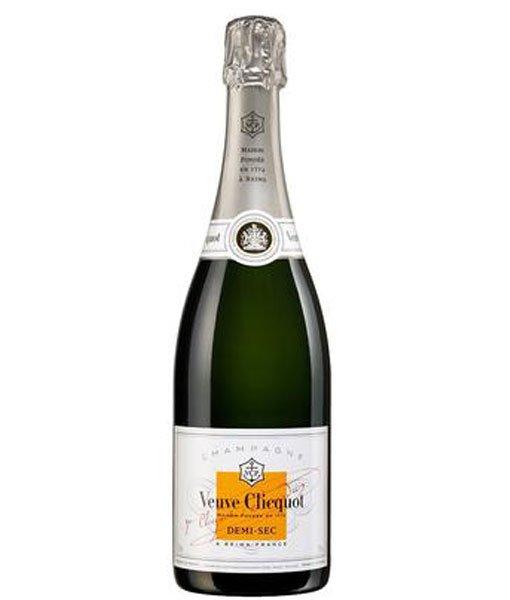 Veuve Clicquot Ponsardin Demi-Sec Champagne 750ml NV