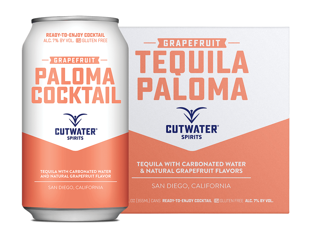 Cutwater Paloma Tequila 4Pk 355ml Cans