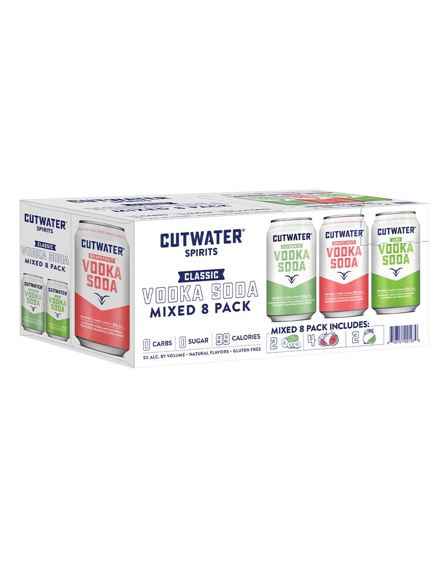 Cutwater Variety 8Pk - 355ml Cans