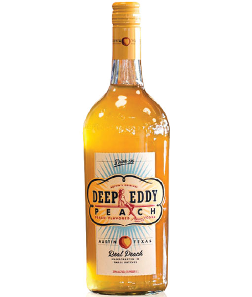 Deep Eddy Peach Vodka 1L