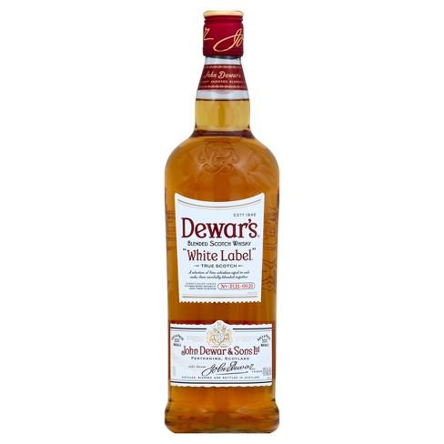 Dewar's White Label Blended Scotch 1L