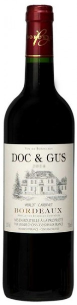 2017 Doc & Gus Red Bordeaux 750ml