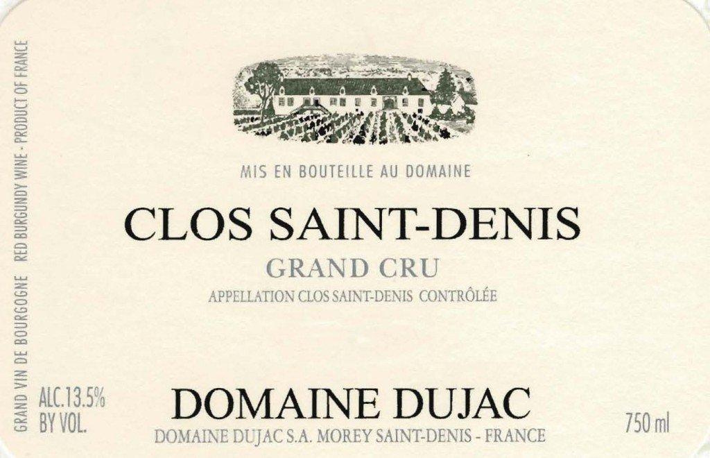 2018 Domaine Dujac Clos Saint-Denis Grand Cru 750ml