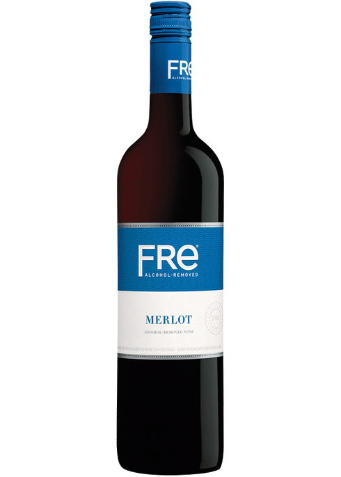 Sutter Home Fre Merlot 750ml NV